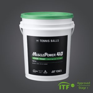 MUSCLE POWER 40 Tennis Balls