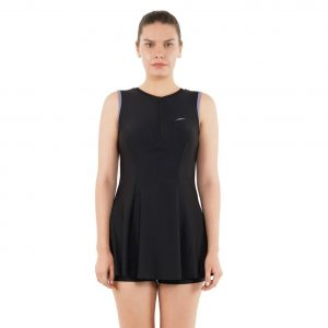 Closedback Swimdress With Boyleg