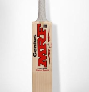 CRICKET BAT MRF GENIUS PLAYER SPECIAL ENGLISH WILLOW