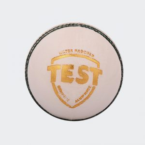 SG Test White Cricket Balls Leather