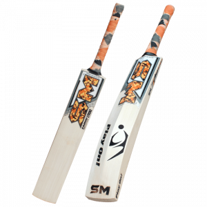 "SM Camou Pro Edition ""STROKE"" English Willow Cricket Bat"