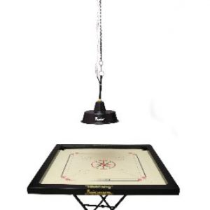 Precise Carrom Chain Hanging Lamp Shade Stand with Electric Fitting