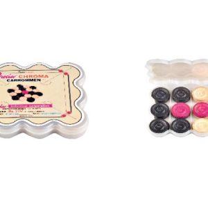 Precise Chroma Carrommen (Plastic Box)