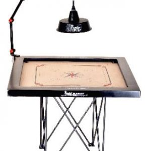 Precise Four Fold Carrom Lamp Shade Stand with Electric Fitting