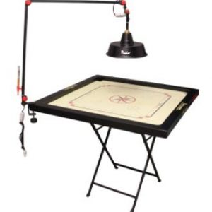 Precise Two Fold Carrom Lamp Shade Stand with Electric Fitting
