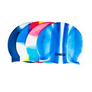 Cosco Swim Cap Multi Colour