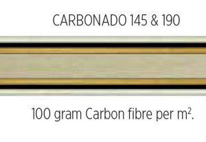 Stiga Carbonado 190 Table Tennis Blade