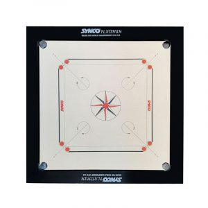 Synco Platinum Genius Carrom Board 20mm