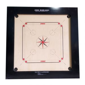 Synco Bull Dog Genius Carrom Board