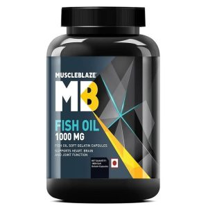 MuscleBlaze Fish Oil