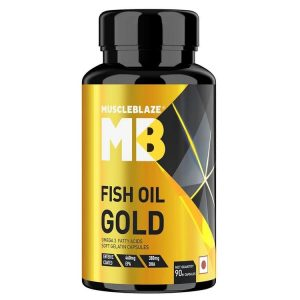 MuscleBlaze Fish Oil Gold